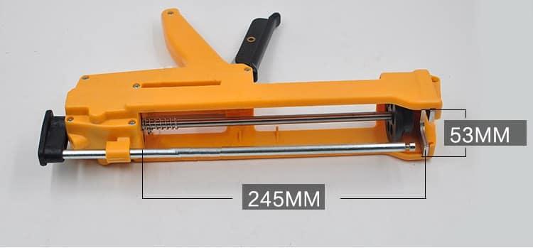 Пистолет для монтажной пены размеры