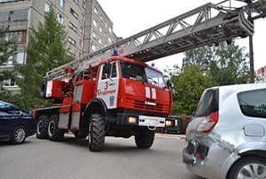 Проблемы при проезде пожарных машин по дворовой территории