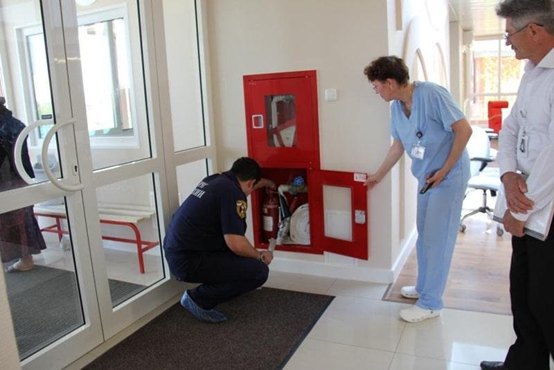 Проверка МЧС в больницах