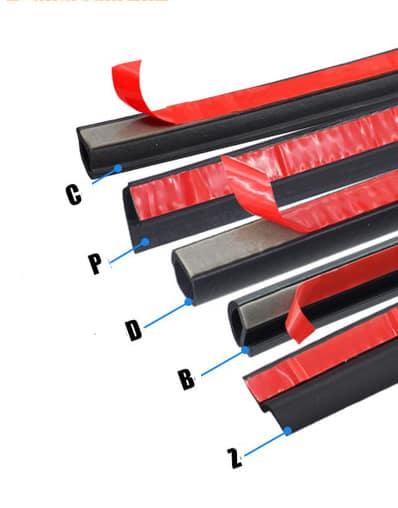 резиновый уплотнитель на клеевой основе