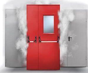 Противопожарные ворота, двери, люки